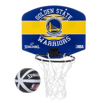 Spalding GOLDEN STATE WARRIORS, košarkarski obroč, modra