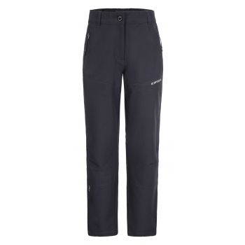 Icepeak KIELCE JR, otroške pohodne hlače, črna