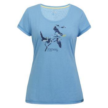 Icepeak MINOT, ženska majica, modra