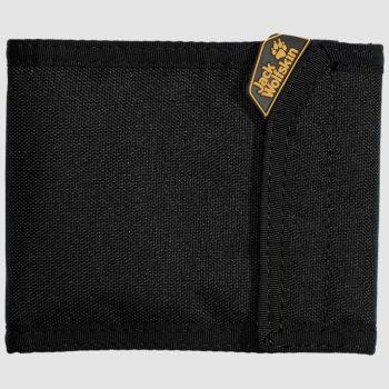 Jack Wolfskin COIN & CREDIT, denarnica, črna