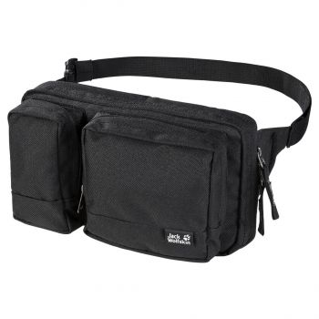Jack Wolfskin UPGRADE, torbica za okrog pasu, črna