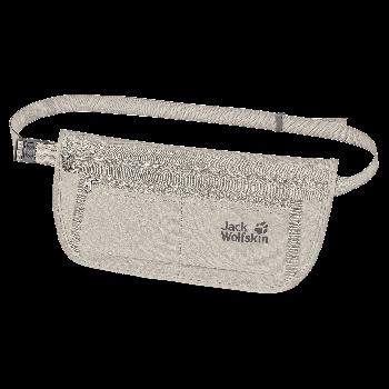 Jack Wolfskin DOCUMENT BELT DE LUXE, torbica za okrog pasu, siva
