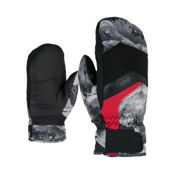 Ziener LABINOS AS MITTEN JUNIOR, otroške smučarske rokavice, črna