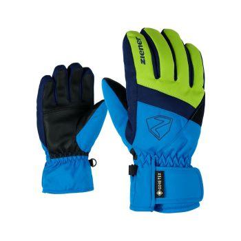 Ziener LEIF GTX, otroške smučarske rokavice, modra