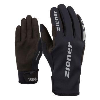 Ziener URS GTX INF, moške rokavice, črna
