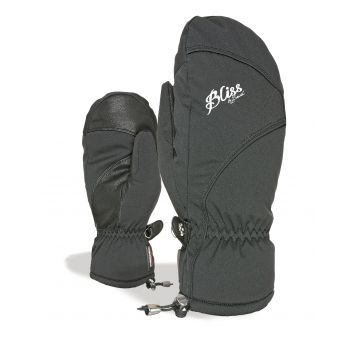 Level BLISS MUMMIES MITT, ženske smučarske rokavice, črna