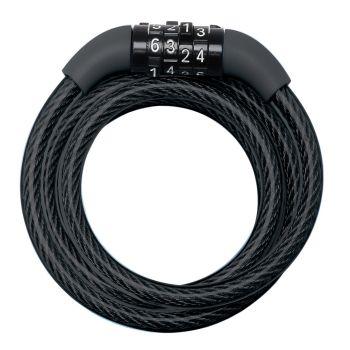 Masterlock 8143 ŠTEVILKE 1,2M, ključavnica, črna