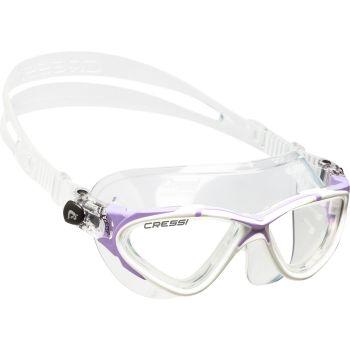 Cressi Sub PLANET LADY, plavalna očala, transparent