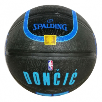 Spalding NBA LUKA DONČIĆ MAVERICKS, košarkarska žoga, črna