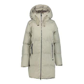 Luhta HALLA L6, ženska pohodna jakna, bež