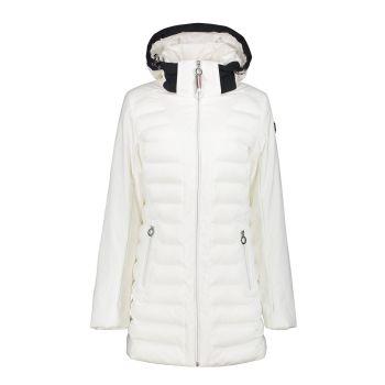 Luhta ILOMANTSI, ženska pohodna jakna, bela