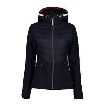 Luhta ILAJA, ženska pohodna jakna, črna