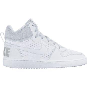 Nike NIKE COURT BOROUGH MID (GS), otroški športni copati, bela