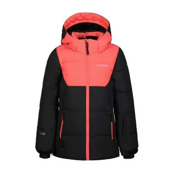 Icepeak LORIS JR, otroška smučarska jakna, črna