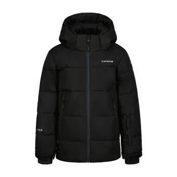 Icepeak LOUIN JR, otroška smučarska jakna, črna