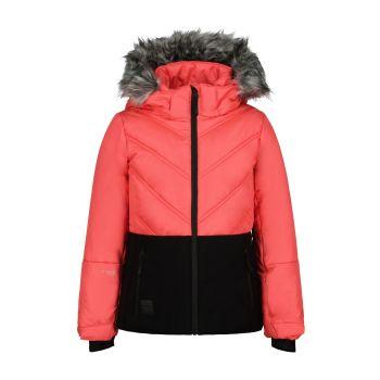 Icepeak LINDAU JR I, otroška smučarska jakna, roza