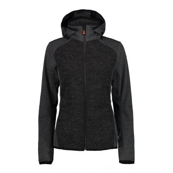 Icepeak BLANCO, ženska pohodna jakna, črna