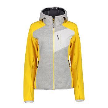 Icepeak DAHLONEKA, ženska pohodna jakna, rumena