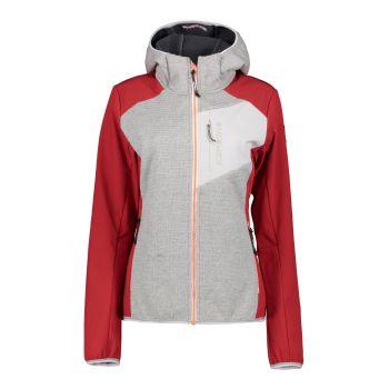Icepeak DAHLONEKA, ženska pohodna jakna, rdeča