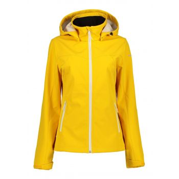 Icepeak BRENHAM, ženska pohodna jakna, rumena