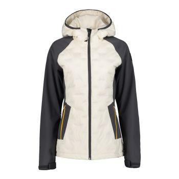Icepeak BERGAMO, ženska pohodna jakna, bela