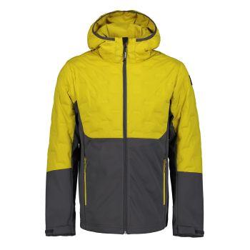 Icepeak BALL, moška jakna, rumena