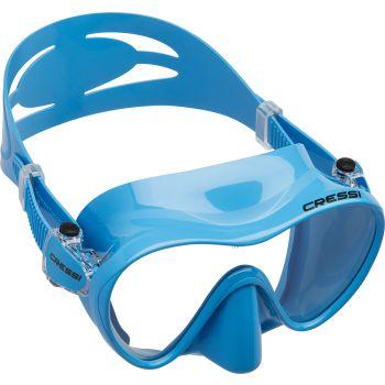 Cressi Sub F1 FRAMELESS, potapljaška maska, modra
