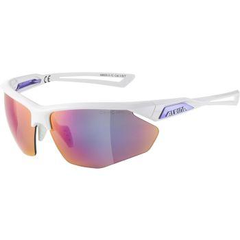 Alpina NYLOS HR, očala, bela