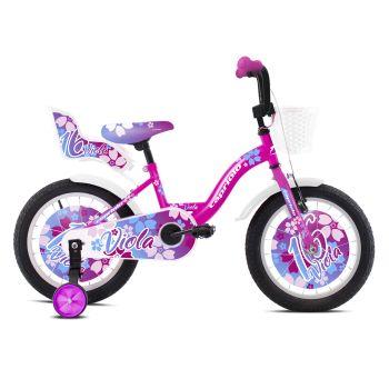 Capriolo VIOLA 16, otroško kolo, vijolična