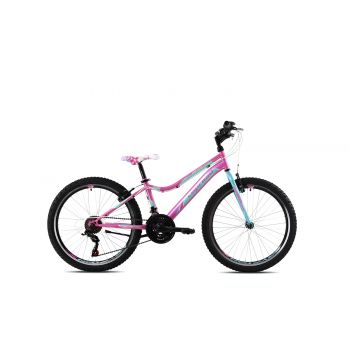 Capriolo DIAVOLO DX 24, otroško kolo, roza