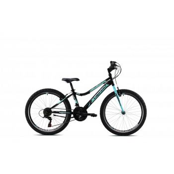 Capriolo DIAVOLO DX 24, otroško kolo, črna