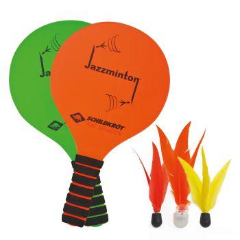 Schildkroet JAZZMINTON SET - LED BALL, igra, oranžna