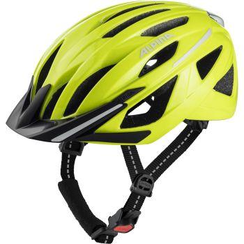 Alpina HAGA, kolesarska čelada, rumena
