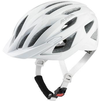 Alpina DELFT MIPS, ženska kolesarska čelada, bela