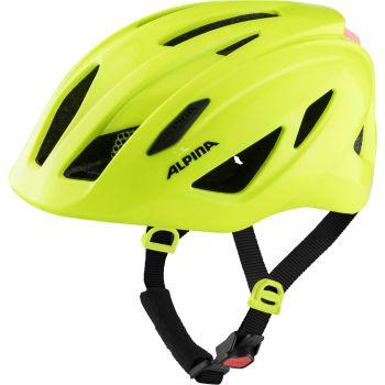 Alpina PICO FLASH, otroška kolesarska čelada, rumena