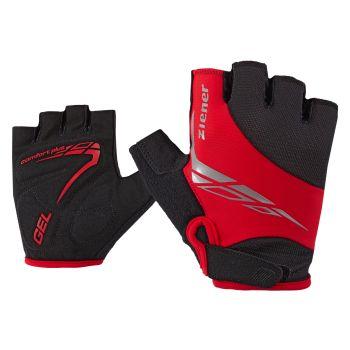 Ziener CENIZ, moške kolesarske rokavice, rdeča