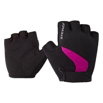 Ziener CRIDO JR, rokavice o.kol, roza