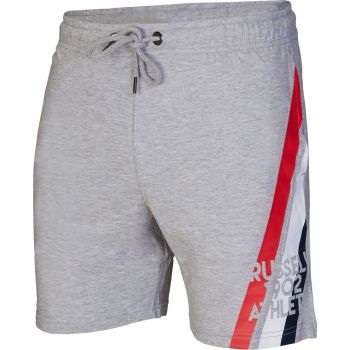 Russell Athletic STRIPED SHORTS, moške hlače, siva