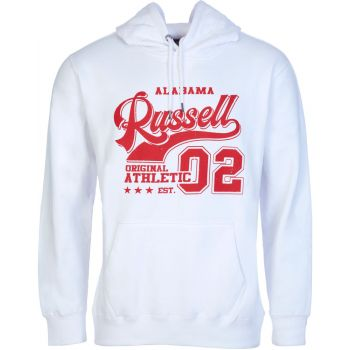 Russell Athletic ORIGINAL - PULL OVER HOODY, moški pulover, bela