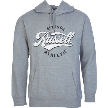 Russell Athletic EST 1902 - PULL OVER HOODY, moški pulover, siva