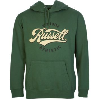 Russell Athletic EST 1902 - PULL OVER HOODY, moški pulover, zelena