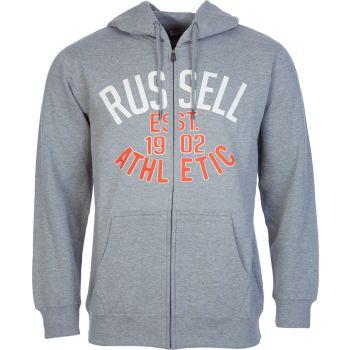 Russell Athletic EST 1902 - ZIP THROUGH HOODY, moška jopa, siva