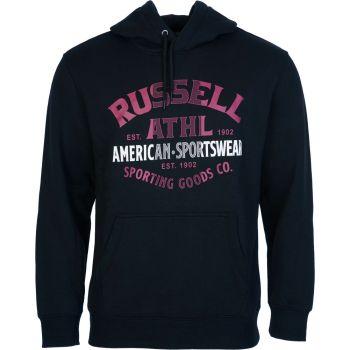 Russell Athletic SPORTSWEAR - PULL OVER HOODY, moški pulover, črna