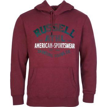 Russell Athletic SPORTSWEAR - PULL OVER HOODY, moški pulover, rdeča