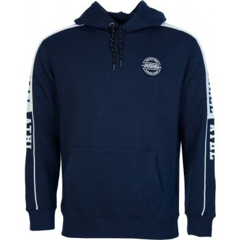 Russell Athletic COLLEGIATE PIPED - PULL OVER HOODY, moški pulover, modra