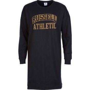 Russell Athletic RA-L/S CREWNECK DRESS SWEAT, obleka ž., črna