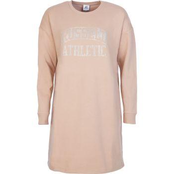 Russell Athletic RA-L/S CREWNECK DRESS SWEAT, obleka ž., bež
