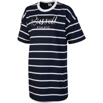 Russell Athletic SL TEESHIRT STRIPED DRESS, obleka, modra