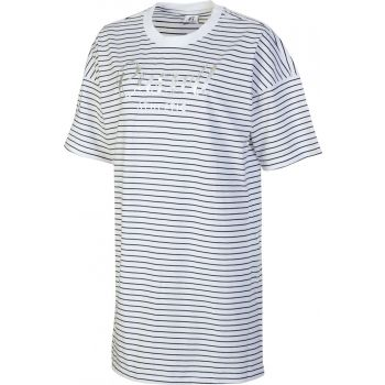 Russell Athletic SL TEESHIRT STRIPED DRESS, obleka, bela