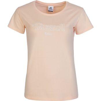 Russell Athletic VC - S/S CREWNECK TEE SHIRT, ženska majica, bež